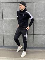 Мужской спортивный костюм Off White с капюшоном, два цвета