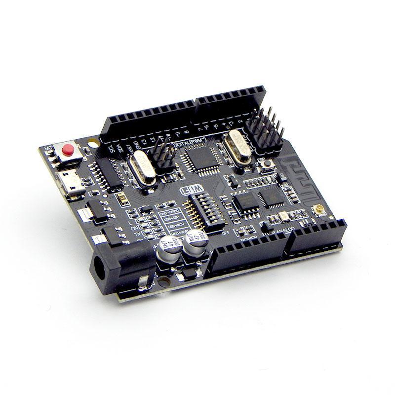Плата Arduino NodeMCU Uno R3 + ATmega328P +WiFi ESP8266