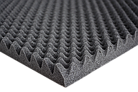 Шумоизоляция ACOUSTICS Sound Wave 35мм 500х1000мм