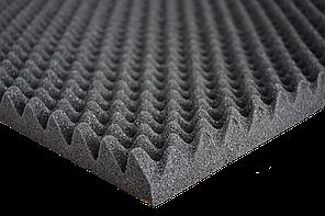 Шумоізоляція ACOUSTICS Sound Wave 35мм 500х1000мм