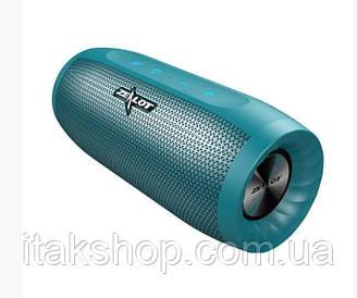 Бездротова стерео Bluetooth колонка Zealot S16 (Синій)