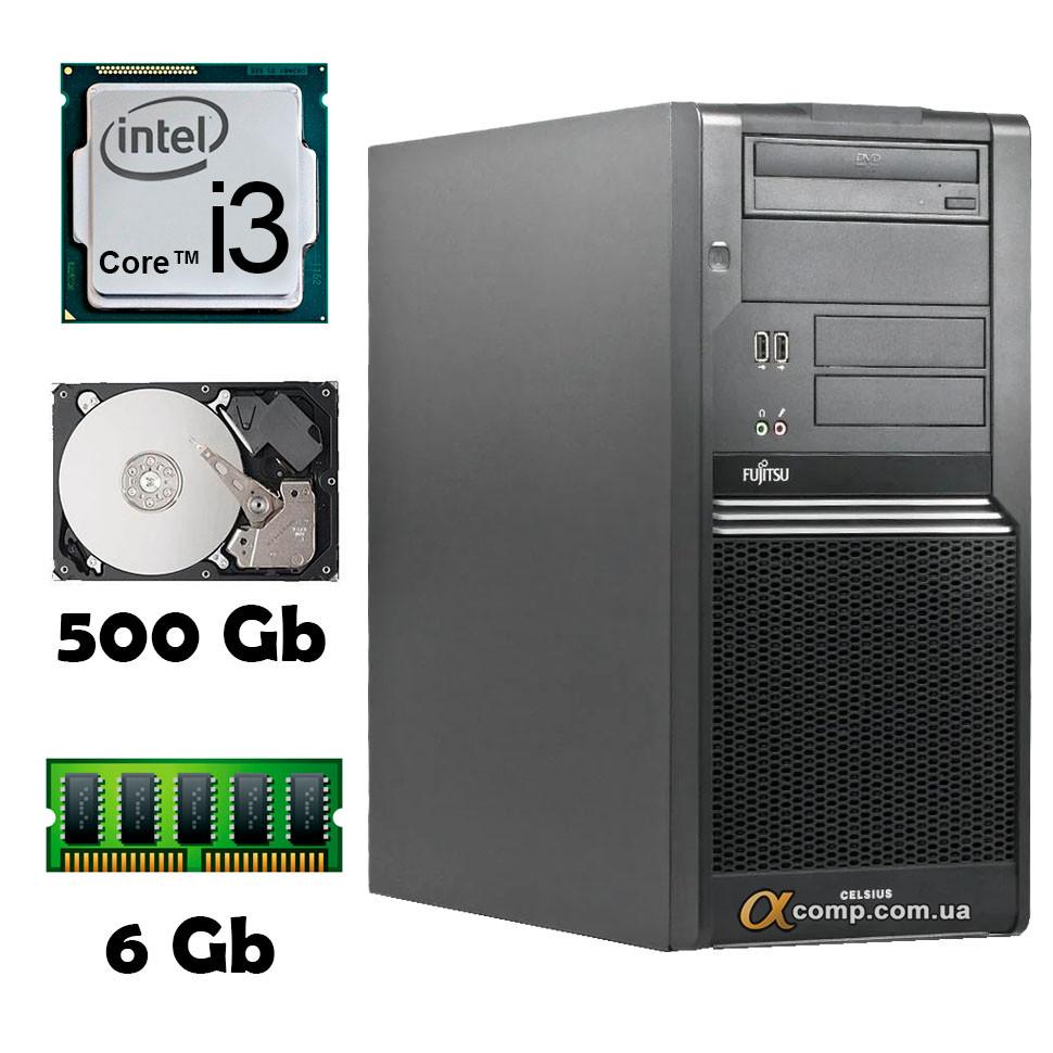 Компьютер Fujitsu W480 (i3-530/6Gb/500Gb) БУ