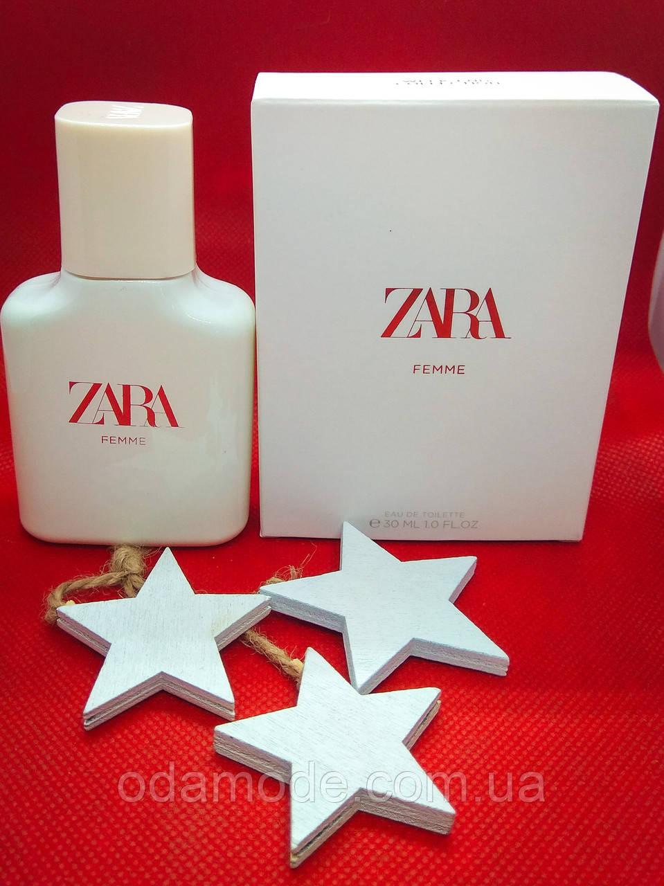 Духи Zara Femme edt Испания 30мл