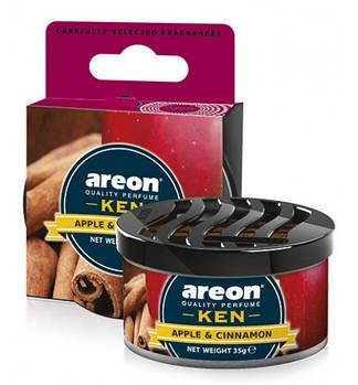 Ароматизатор повітря Areon KEN Apple & Cinnamon