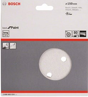 5 шлифлистов Bosch 150мм (зерно 80), фото 1