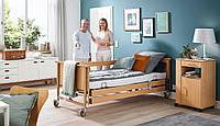 Б/У Медицинская Электрическая 4 Функциональная Кровать для Реабилитации Burmeier DALI II Care Bed (Used)