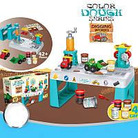 Набор для лепки BOШA Земляные работы 8734 простор для идей и творчества ребёнка
