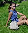 """Рюкзак """"Stefany"""" 06 світло - сірого кольору, фото 2"""