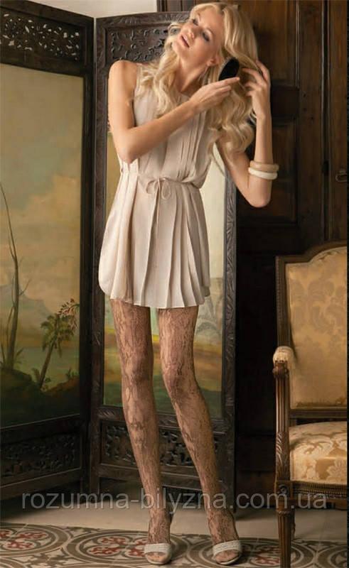 Колготи жіночі, фантазійні,nude,ТМ Oroblu,3