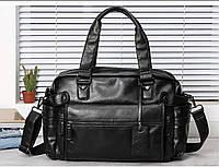 Мужская кожаная дорожная сумка MCGOR. Модель 04291, фото 8