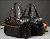 Мужская кожаная дорожная сумка MCGOR. Модель 04291, фото 9