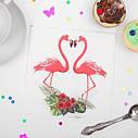 Салфетки Фламинго (уп.20шт.), фото 3