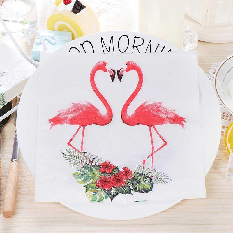 Салфетки Фламинго (уп.20шт.)