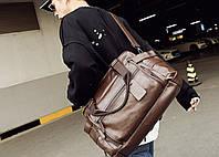 Мужская кожаная дорожная сумка MCGOR. Модель 04291, фото 10