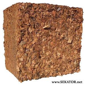 Кокосовий блок SS-L 4,5 кг (6 - 18 мм,100% кокосова чипса)