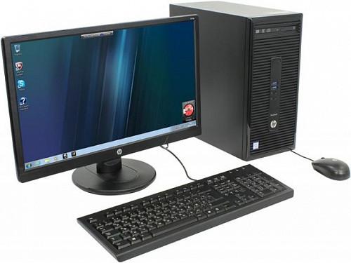 Компьютер в сборе,Core i7- 3 gen, 4 ядра по 3.40 ГГц, 8 Гб ОЗУ DDR3, HDD 500 Гб, Видеокарта 4 Гб, мон 24 дюйма