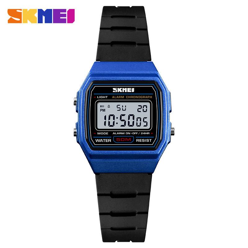 SKMEI 1460 синие детские спортивные часы