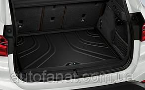 Оригинальный коврик в багажник BMW X1 F48, Basis (51472407168)