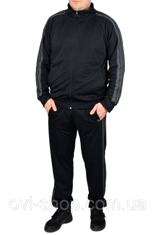спортивный костюм мужской черный