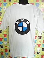 Футболка  для фаната BMW белая