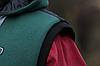 Чоловічий жилет стеганний з капюшоном великого розміру 56-66, фото 5