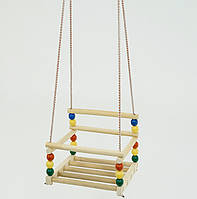 Детские качели подвесные деревянные 113 Качели детские для дома Качели для детей Детские качели для детей