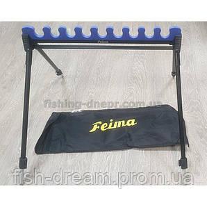 Подставка фидерная FEIMA с гребенкой на 9 удилищ
