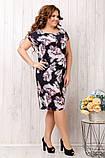 Летнее женское платье ,ткань супер софт,размеры:50,52.54,56., фото 2