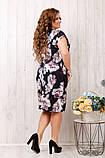 Летнее женское платье ,ткань супер софт,размеры:50,52.54,56., фото 3