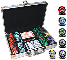 """Профессиональный набор для игры в покер """"Poker Star 200"""""""