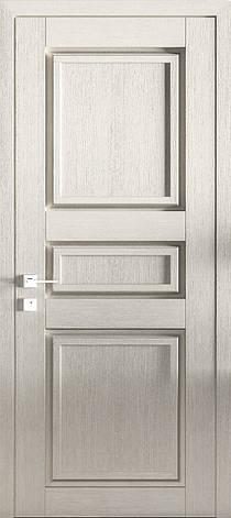 Двері ATLANTIC A004. Полотно+коробка+2 до-та лиштв+добір 77мм, зрощений брус сосни, еко-шпон, фото 2