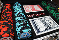 """Профессиональный набор для игры в покер """"Poker Star 200"""", фото 2"""