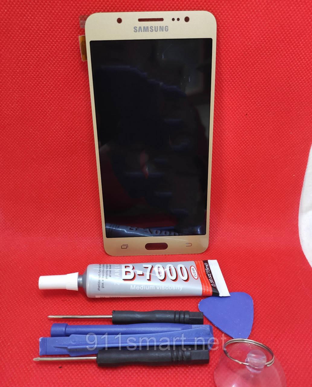 Дисплейный модуль, тачскрин Samsung Galaxy J5 2016 год j510fn, j