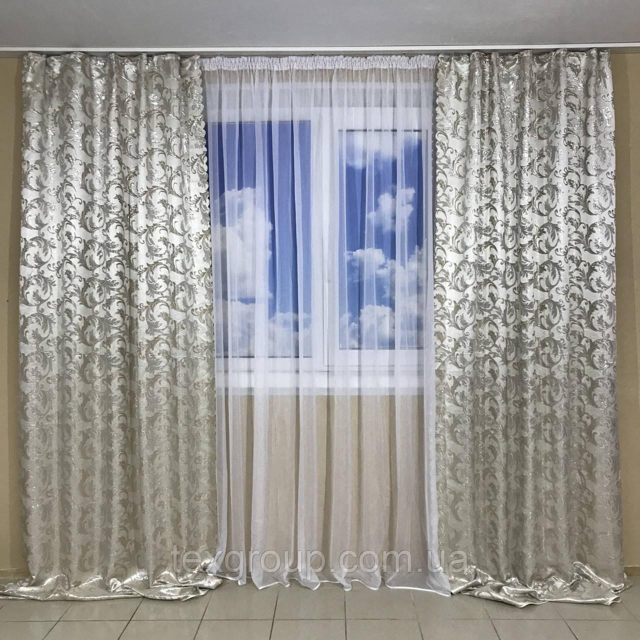 Готовые шторы №335