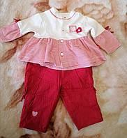 Костюм для девочки зауженные штанишки и кофточка, фото 1