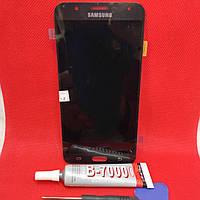Дисплейний модуль LCD екран для Samsung Galaxy J7 j700h Amoled, фото 1