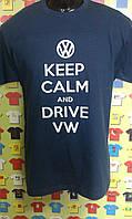 Футболка  KEEP CALM and DRIVE Volkswagen