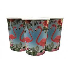 Бумажные стаканчики Фламинго (уп. 10шт)