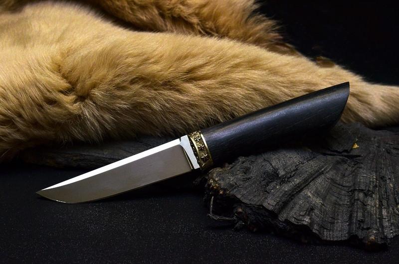 """Нож ручной работы """"Изящный"""", N690"""