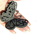 Набор милых 3д бабочек Квитка, объемные бабочки из картона на скотче, метелики 3d, фото 3
