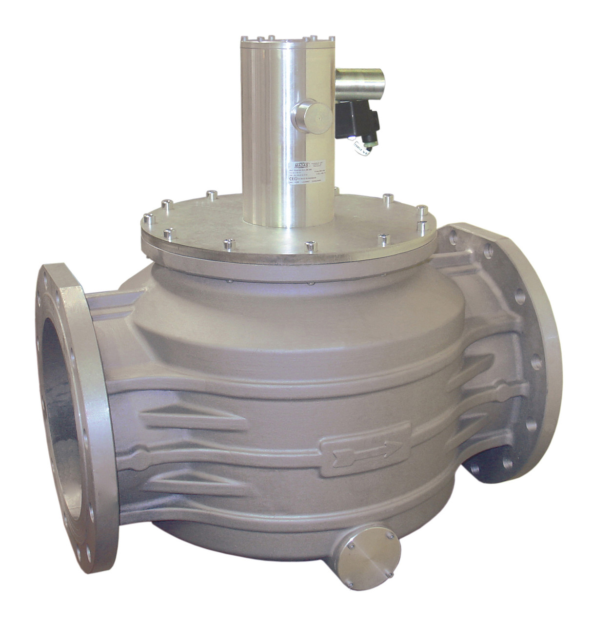 Электромагнитный клапан M16/RM N.A., DN250, 6 bar (MADAS)