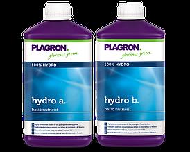 Удобрение для гидропоники Plagron Hydro А и B  по 1л