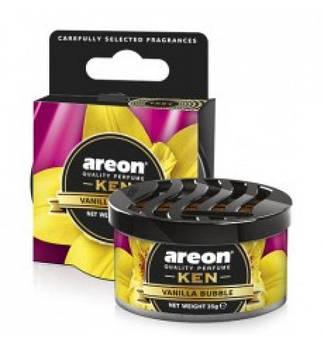 Ароматизатор повітря Areon KEN Vanilla Black