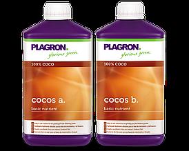 Удобрения для кокосового субстрата Plagron Cocos А и B по 1л