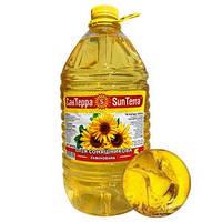 Масло Подсолнечное Sun Terra, 5 литров. Украина