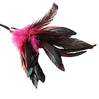 Метелочка-щекоталка Sportsheets - PLEASURE FEATHER ROSE на веревочной петле, фото 2
