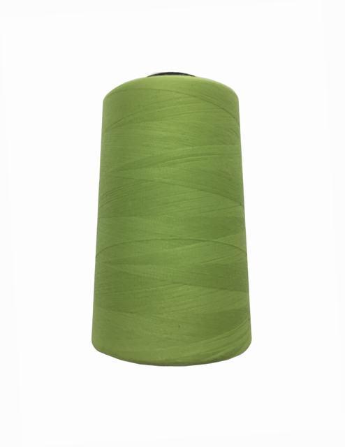 Нитки швейные 50/2 цв.S-041 зеленый светлый (боб.5000 ярдов) NITEX