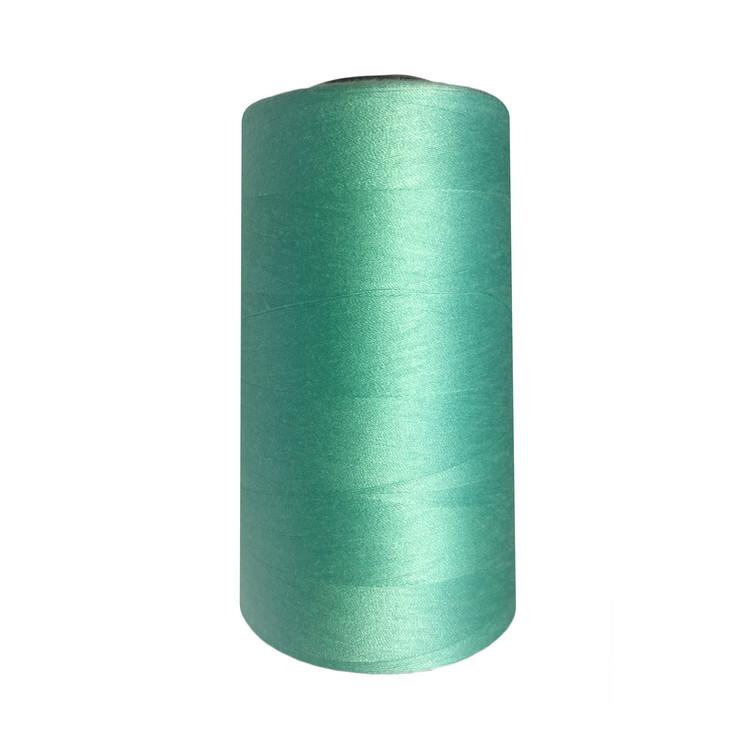 Нитки швейные 50/2 цв.S-049 бирюзовый светлый   (боб.5000 ярдов) NITEX