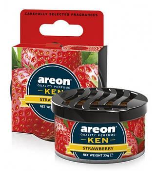 Ароматизатор повітря Areon KEN Strawberry