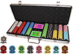 """Набор для игры в покер """"Havana 500"""" с композитными фишками"""